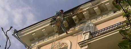 Ремонт и реставрация фасадов Львов