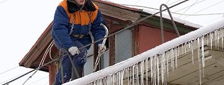 Очищення дахів від снігу Львів